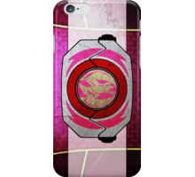 PinkRanger iPhone Case/Skin
