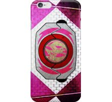 PinkRanger 2 iPhone Case/Skin