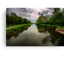 Exeter Canal Canvas Print