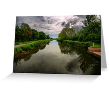 Exeter Canal Greeting Card