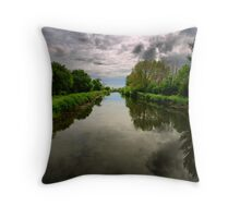 Exeter Canal Throw Pillow