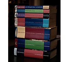 HP Books Photographic Print