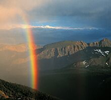 RAINBOW,TRAIL RIDGE by Chuck Wickham