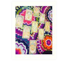 Mystic Tarot Art Print