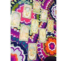Mystic Tarot Photographic Print