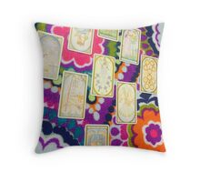 Mystic Tarot Throw Pillow