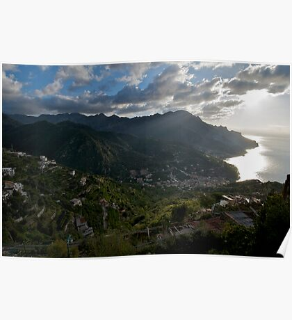 Early Morning From Ravello Poster