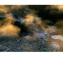 Beneath The Falls Photographic Print
