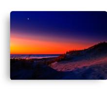 Sunset on Mullaloo Beach Canvas Print