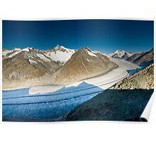 Aletsch glacier Poster