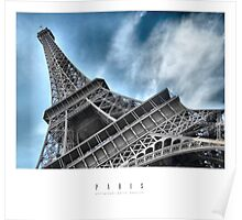 PARIS - La Tour Eiffel Poster