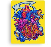 BUSTED HEART Canvas Print
