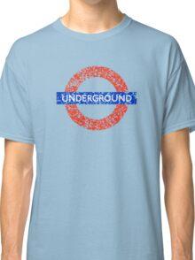 Grunge Underground Logo Classic T-Shirt