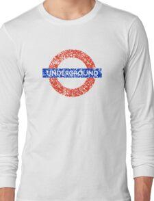 Grunge Underground Logo Long Sleeve T-Shirt