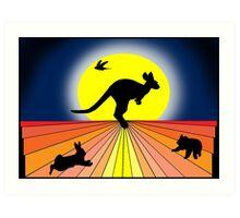 Quintessential Oz  Art Print