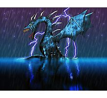 Blue Dragon Photographic Print