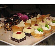Bite sized delicacies Photographic Print