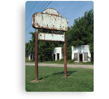 The Avon Motel on Historic Route 66 Canvas Print
