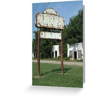 The Avon Motel on Historic Route 66 Greeting Card