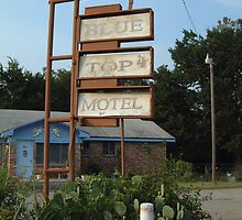 The Blue Top Motel  by Sally P  Moore