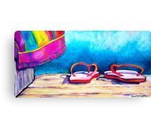 One Summers Day Canvas Print