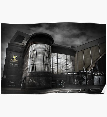 Ibrox Stadium Poster