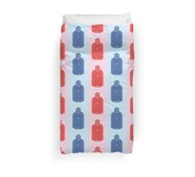 Hot Stuff - water bottle pattern Duvet Cover