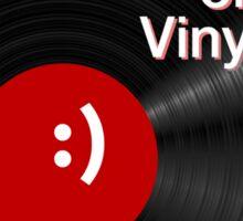 Comedy on Vinyl Sticker