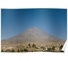 El Misti, Peru Poster