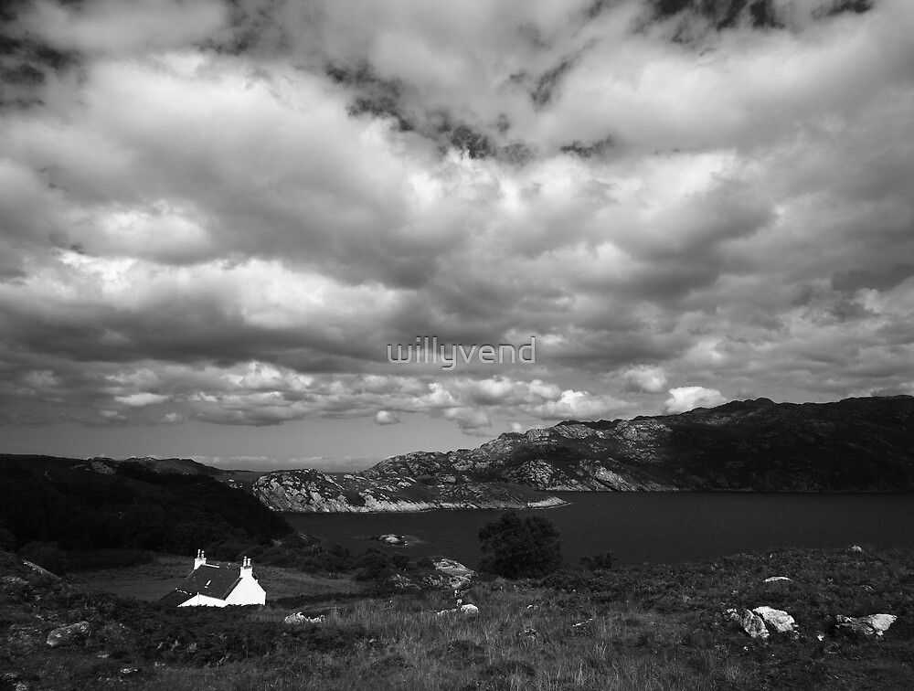 Scotland by Willy Vendeville