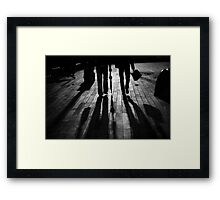 walk@night Framed Print