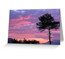 Sakartepe Skies Greeting Card