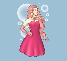 Bubbly Pink Pinup Unisex T-Shirt