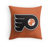 Philadelphia Flyers Minimalistic Print Throw Pillow
