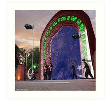 Wagah Stargate Art Print