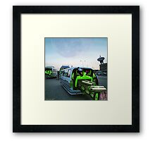 Ultra Cool Customized Pakistani Deep Bass Boom Music Hover rides Framed Print