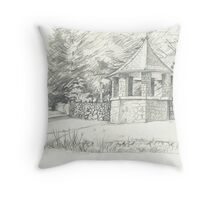 The Stone Gazebo Throw Pillow