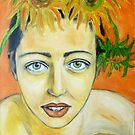 Self Portrait by Lydia Cafarella