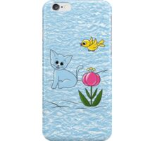 Smiling Cat iPhone Case/Skin