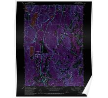 Maine USGS Historical Map Gray 105167 1980 24000 Inversion Poster