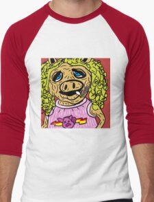 Miss Piggy Men's Baseball ¾ T-Shirt