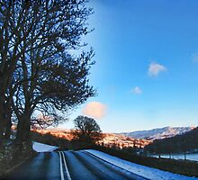 On the Road to Grasmere by Marilyn Harris