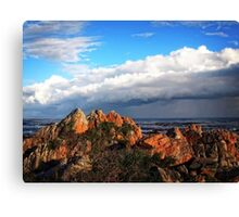 Storm Approaching Hermanus Canvas Print
