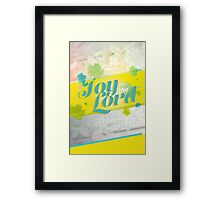 Joy in the Lord Framed Print