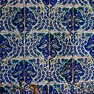 Tiles, Eyup mosque		Istanbul	Turkey by cascoly