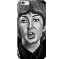 paul the beatles iPhone Case/Skin