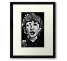 paul the beatles Framed Print