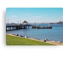 Coronado Pier Canvas Print