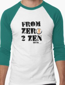 From Zero to Zen - SOTTOZEN T-shirt Men's Baseball ¾ T-Shirt