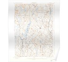 Maine USGS Historical Map Gray 460443 1898 62500 Poster